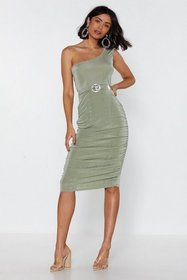 Nasty Gal Womens Sage The Only One Shoulder Mini D