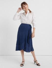 Lucky Brand Ruffle Collar Shirt