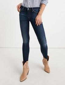 Lucky Brand Mid Rise Ava Crop Jean