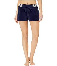 Splendid Striped Waistband Sleep Shorts