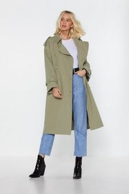 Nasty Gal Womens Sage Return of the Mac Belted Tre