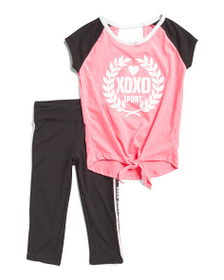 XOXO Big Girls 2 Piece Legging Set