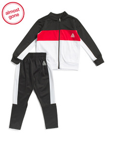 REEBOK Little Boys 2pc Madison Track Suit Set