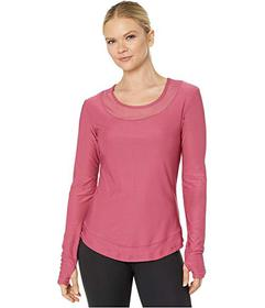 X by Gottex Round Long Sleeve Top