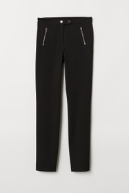 Fitted Slim-fit Pants