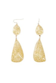 Forever21 Sparkly Lucite Drop Earrings