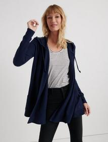Lucky Brand Cloud Jersey Hooded Cardigan