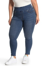 Seven7 High Rise Pull-On Jeggings (Plus Size)