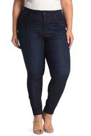 Seven7 Ultra High Rise Skinny Jeans (Plus Size)