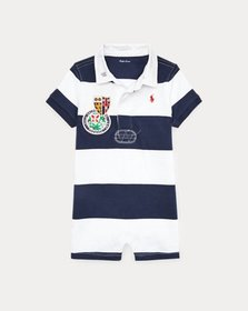 Ralph Lauren Striped Cotton Rugby Shortall