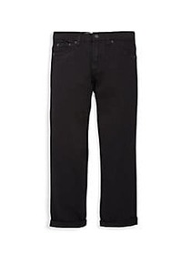Levi's Boy's 502 Stretch Jeans BLACK