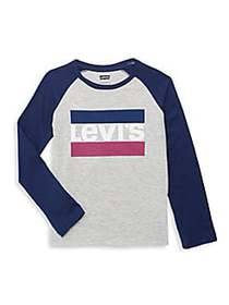 Levi's Little Boy's & Boy's Graphic Logo Cotton Te