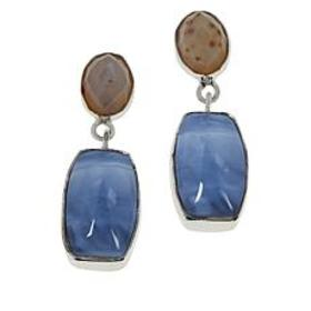 Jay King Sterling Silver Blue Opal and Multi-Color