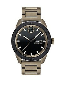 Movado BOLD Sport Stainless Steel Watch GREEN