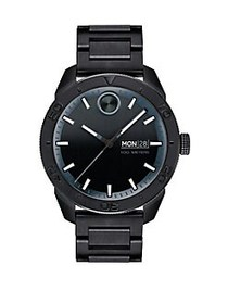 Movado BOLD Sport Stainless Steel Watch BLACK