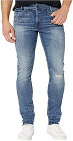G-Star D-Staq Five-Pocket Skinny Jeans in Dark Age