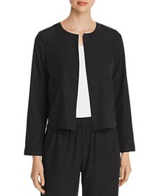 Eileen Fisher - Cropped Open-Front Jacket