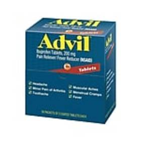 Advil® Ibuprofen Pain Reliever, 200mg, 2/Packet, 5