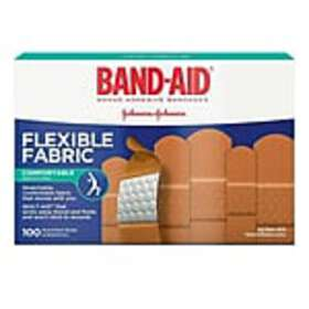 Band-Aid Assorted Fabric Adhesive Bandages, 100/Bo