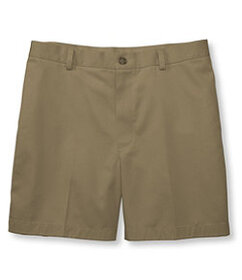 LL Bean Wrinkle-Free Double L Chino Shorts, Classi