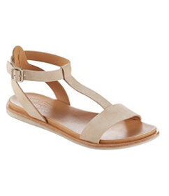 LL Bean Zukey Suede Sandals by Kork-Ease