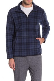 Threads 4 Thought Printed Fleece 1/4 Zip Pullover