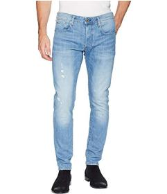 G-Star 3301 Slim Jeans in Light Aged Heavy Stone R