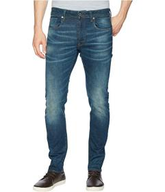 G-Star 3301 Slim Jeans in Medium Aged Beln Stretch
