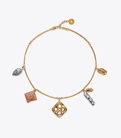 Tory Burch SNACK CHARM NECKLACE