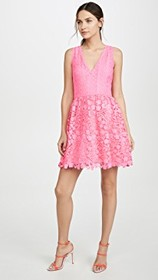 alice + olivia Iris Gathered Dress