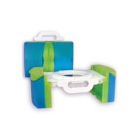 Cool Gear Travel Potty Training Toilet Seat w/Carr