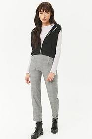 Forever21 French Terry Sleeveless Hoodie
