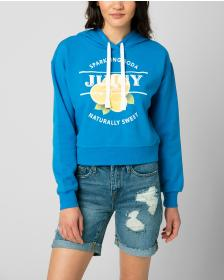 Juicy Couture JUICY LEMON SODA FLEECE PULLOVER HOO