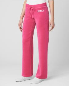 Juicy Couture JUICY POOLONG SLEEVEIDE VELOUR LOGO