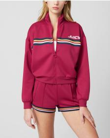 Juicy Couture JUICY STRIPE GRAPHIC TRACK INTERLOCK