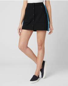 Juicy Couture PONTE FABRIC KNIT BUTTON UP SKIRT