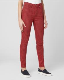 Juicy Couture PRINTED MID RISE ANKLE SKINNY