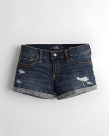 Hollister Advanced Stretch Low-Rise Denim Short 3