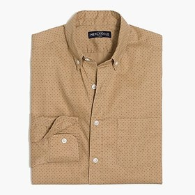 J. Crew Factory Printed flex casual shirt