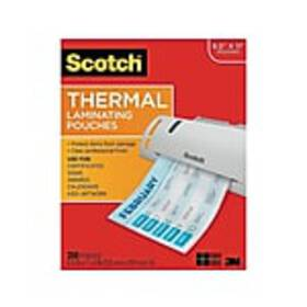 Scotch™ Thermal Laminating Pouches, Letter Size, 2