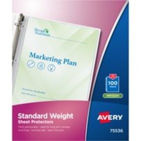 Avery 75536 Top-Load Sheet Protector, Standard, Le