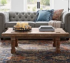Pottery Barn Takhat Reclaimed Wood Coffee Table
