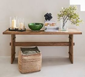 Pottery Barn Easton Reclaimed Wood Console Table