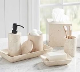 Pottery Barn Silas Marble Accessories