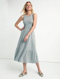 Lucky Brand Tiered Smocked Dress