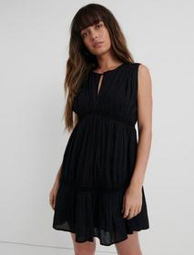 Lucky Brand Sleeveless Hazell Peasant Dress