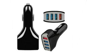 4 Ports USB Fast Car Charger