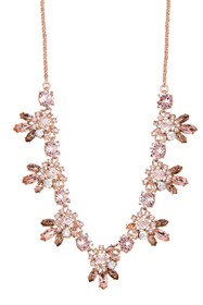 Marchesa Frontal Crystal Necklace