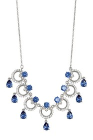 Marchesa CZ Link Frontal Necklace