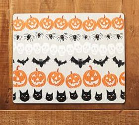 Pottery Barn Halloween Icons Cork Placemat